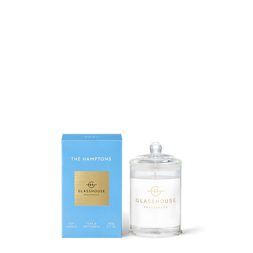 The Hamptons - Teak & Petitgrain Small 60g Candle