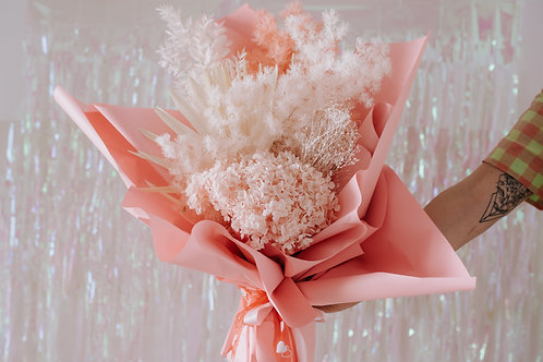 PRESERVED BOUQUET - PINKS