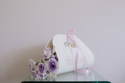 Floral Carrier - One of a Kind - Pastels