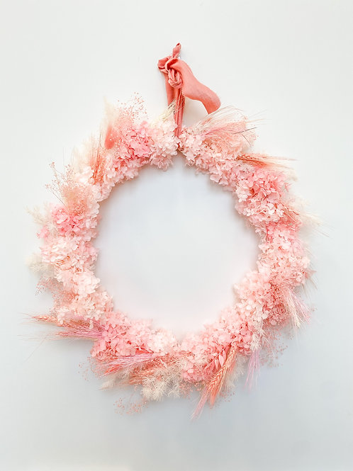Strawberry Pavlova 50cm Wreath