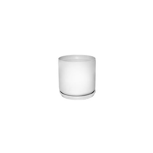 Cylinder Pot White 8cm