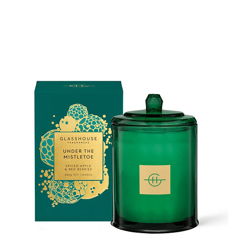 Under The Mistletoe - Spiced Apple and Red Berries 380g Candle