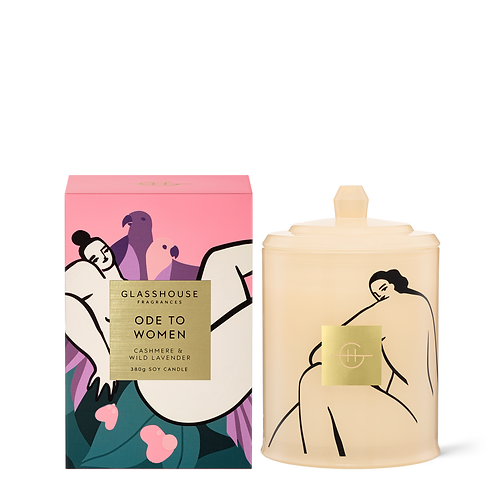 Ode to Women - Cashmere & Lavender 380g Limited Edition Candle