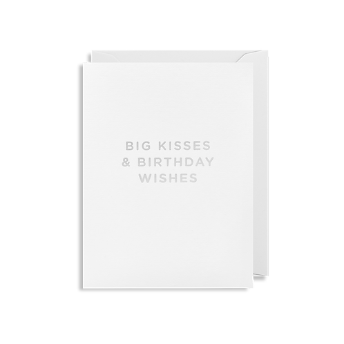 Big Kisses and Birthday Wishes