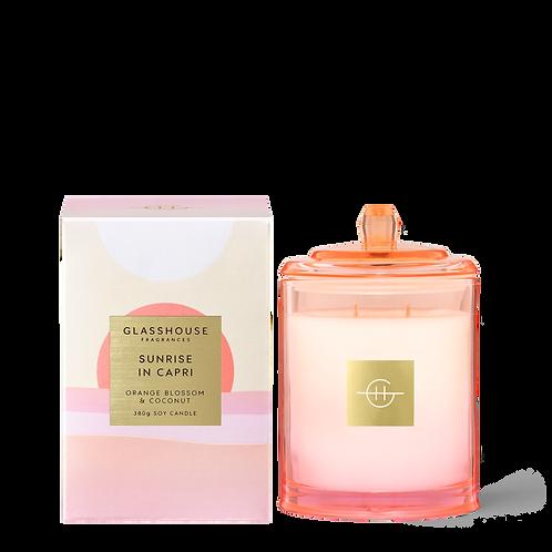 Sunrise in Capri Orange Blossom & Coconut - Limited Edition 380g Candle
