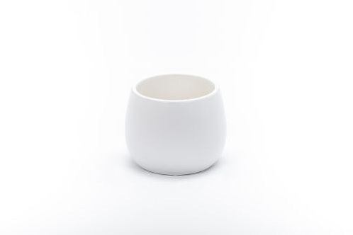 White Cover Pot 16cm