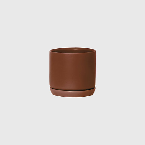 Medium Oslo Planter - Brick