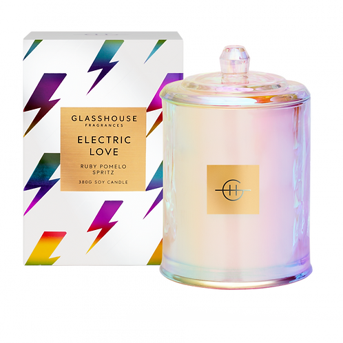 Limited Edition Electric Love 380g Candle