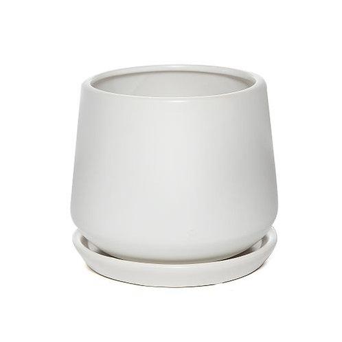 Taper Pot White 22cm