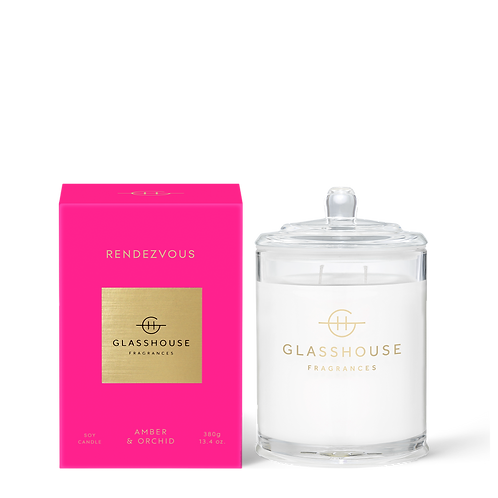 Rendevous Amber & Orchid 380g Candle
