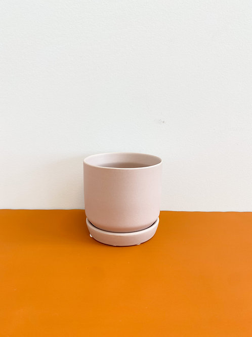 Blush Cylinder Pot 8cm