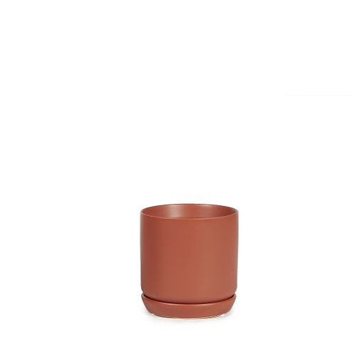 Cylinder Pot Desert Red 8cm