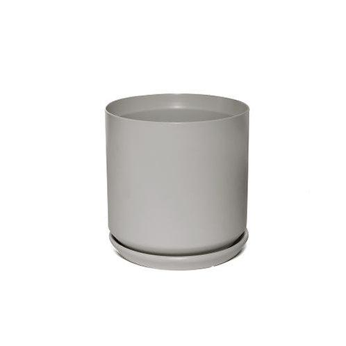Grey Cylinder Pot 12cm