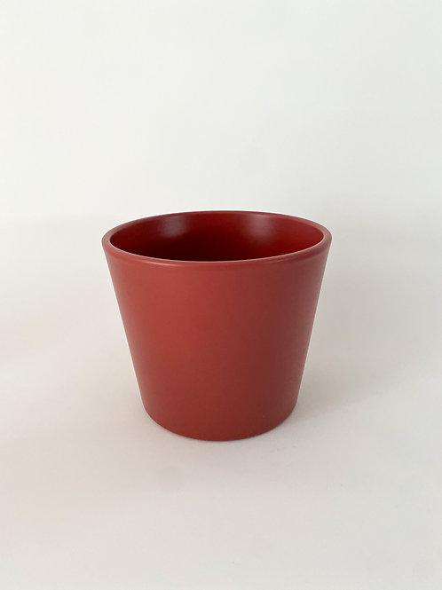 Millie 15cm Ceramic Pot - Marsala