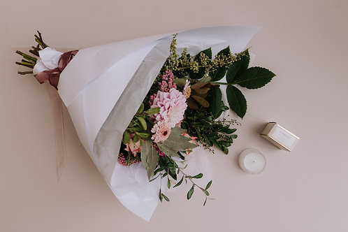 Mother's Day Package - Bunch + Mini Candle