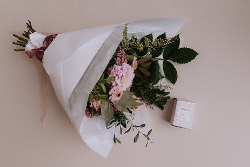 Mother's Day Package - Bunch + Small Candle