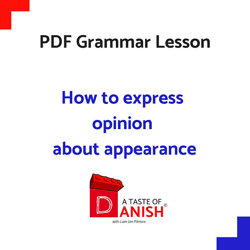 How to express opinion about appearance