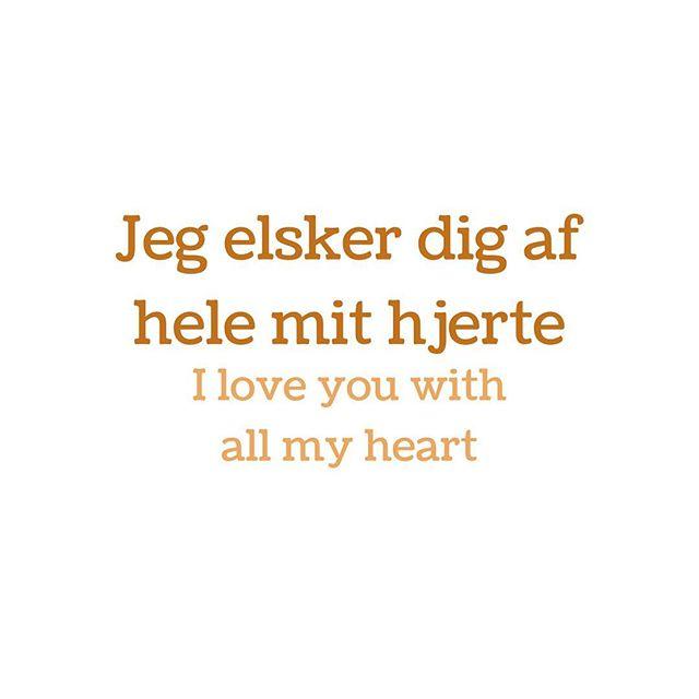 #dansk #detdanskesprog #danishlanguage #english #englishlanguage #engelsk #kærlighed #love