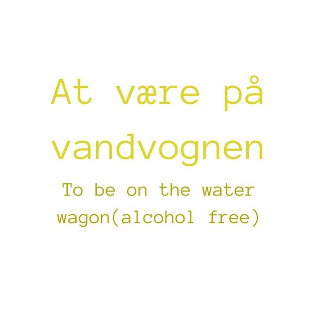 #dansk #detdanskesprog #danishlanguage #expressions #englishlanguage #danglish #alcohol #sober #onth