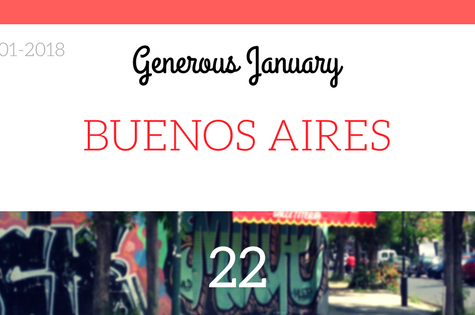 Buenos Aires - Generous January #22