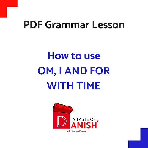 How to use Om, i and for with time