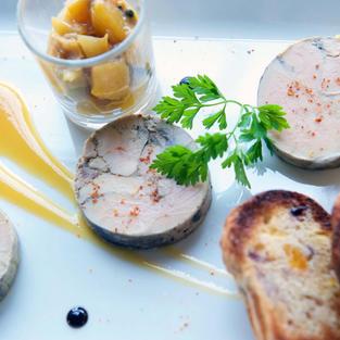 Foie gras de canard  14 €