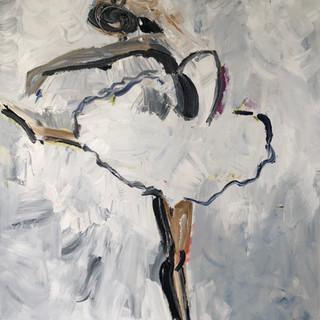 Positur III, 120 x 100 cm