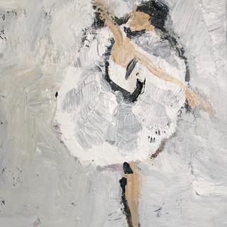 Svanen III, 50 x 40 cm
