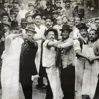 Foto fra Buenos Aires, 1910