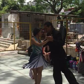 Dans på byggepladsen, Buenos Aires