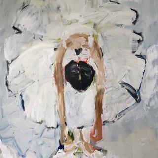 Positur II, 120 x 100 cm