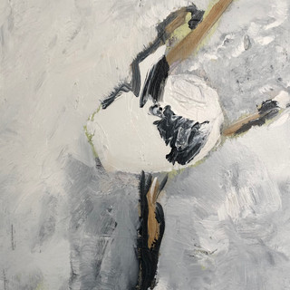 Svanen I, 50 x 40 cm