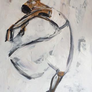 Ballet i vind, 160x120 cm