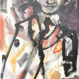 Maleren, 180x100 cm