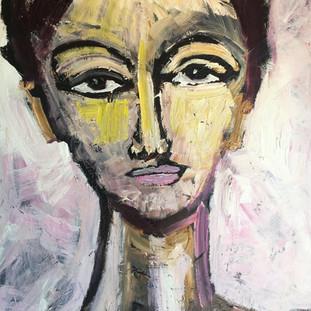 Rosa, 120 x 100 cm