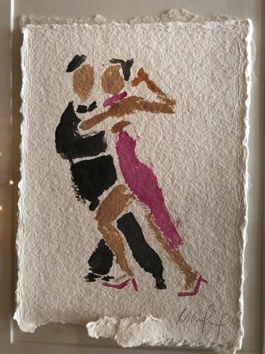 Rosa tango, ca. 20x15 cm
