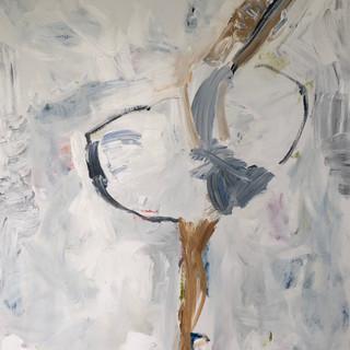 Positur I, 120 x 100 cm