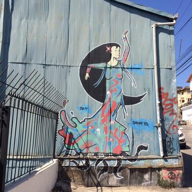 Dans på blik i Valparaiso