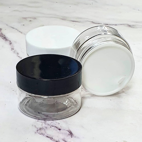 The Package Factory 30g Clear PET Cosmetic Jar Lagos, Nigeria