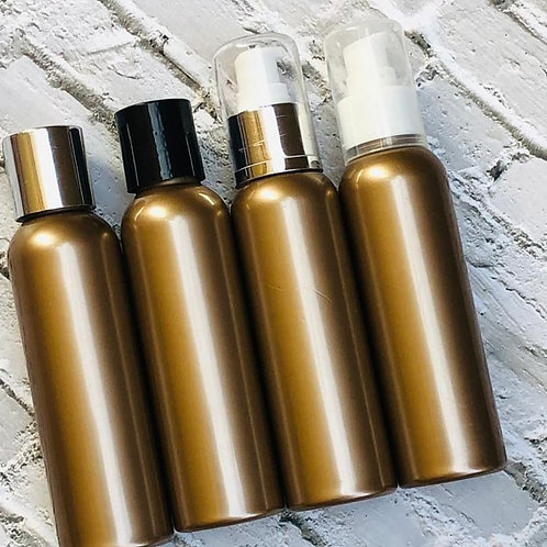The Package Factory 100ml Gold PET Cosmetic Bottle Lagos, Nigeria