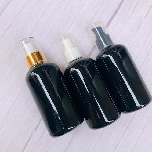 The Package Factory 250ml PET Black Cosmetic Bottle Lagos, Nigeria