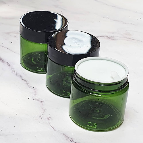 The Package Factory 50g Green PET Cosmetic Jar Lagos, Nigeria