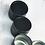 Thumbnail: 50ml Black Tin Jars
