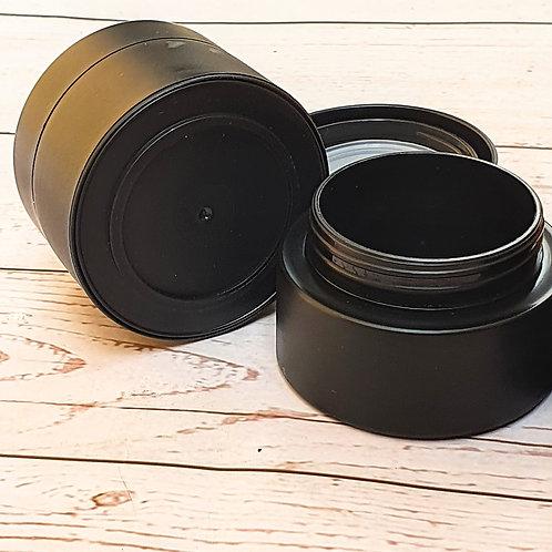 The Package Factory 50g Matte Black PP Plastic Cosmetic Jar Lagos, Nigeria