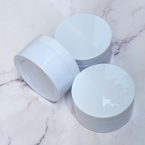 The Package Factory 100/200g White PP Cosmetic Jar Lagos, Nigeria