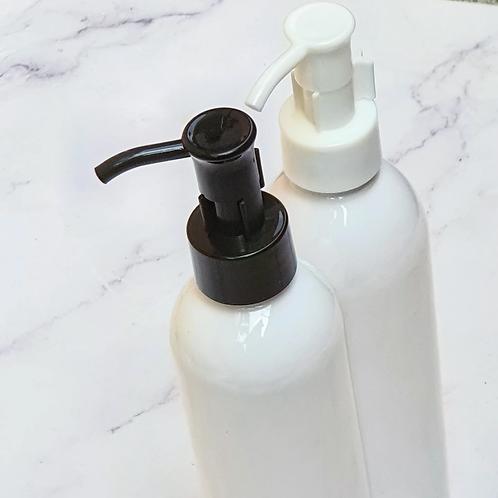 250ml White Boston PET Plastic Bottles