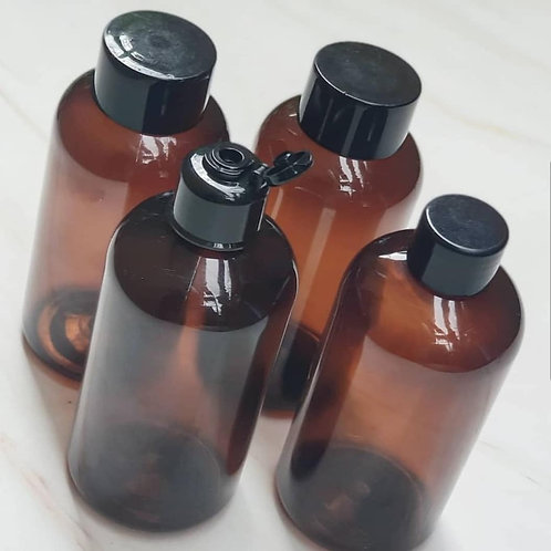 The Package Factory 250ml Amber PET Cosmetic Bottle Lagos, Nigeria