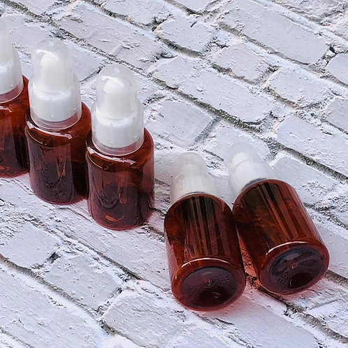 The Package Factory 50ml Amber PET Dropper Bottle Lagos, Nigeria
