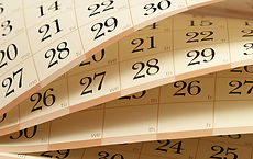Picture of a Calender that is a link to the library calendar