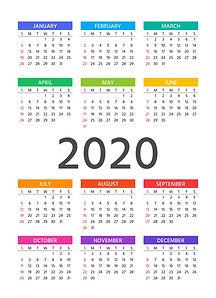 2020-calendar-template-year-planner-vect